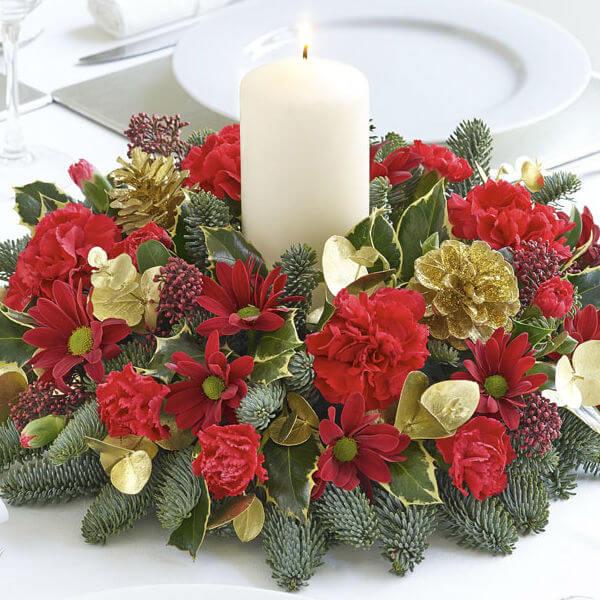Noel Candle Arrangement