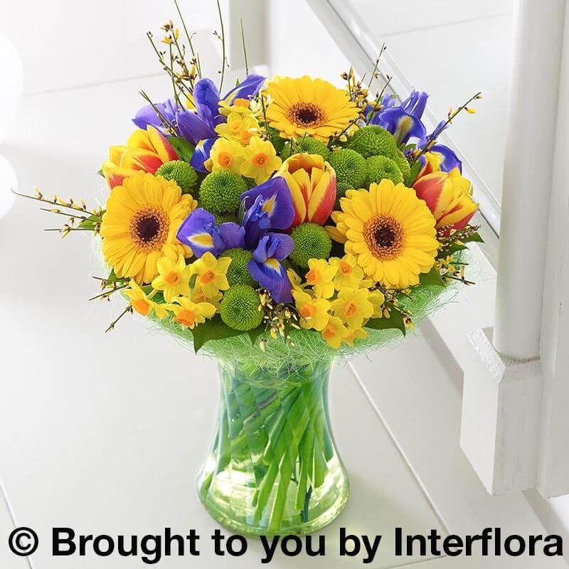 Vase of Spring Flowers