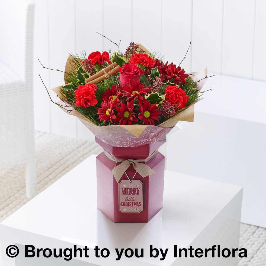 Christmas Gift Flower Box