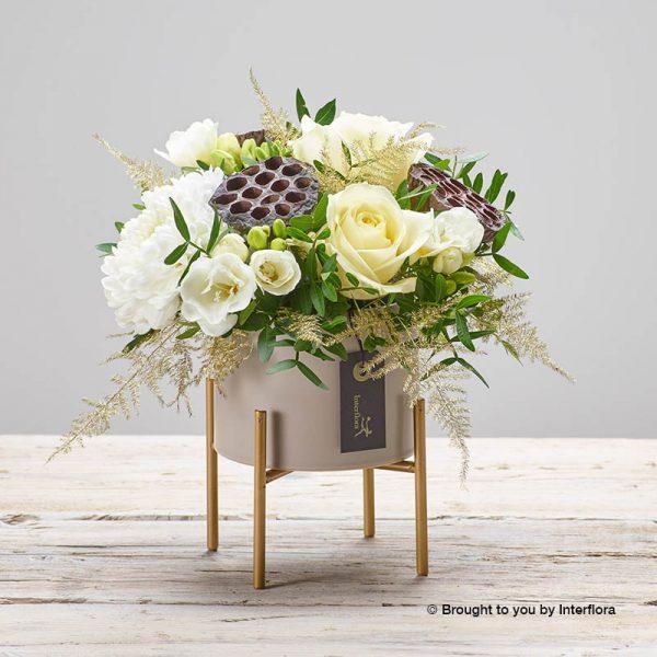 White winter arrangement