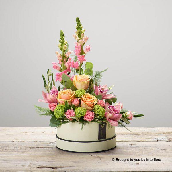 luxury floral hatbox