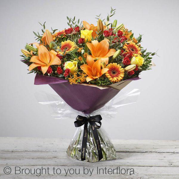 golden glory autumn bouquet