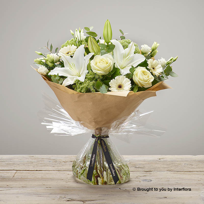 White Radiance Bouquet
