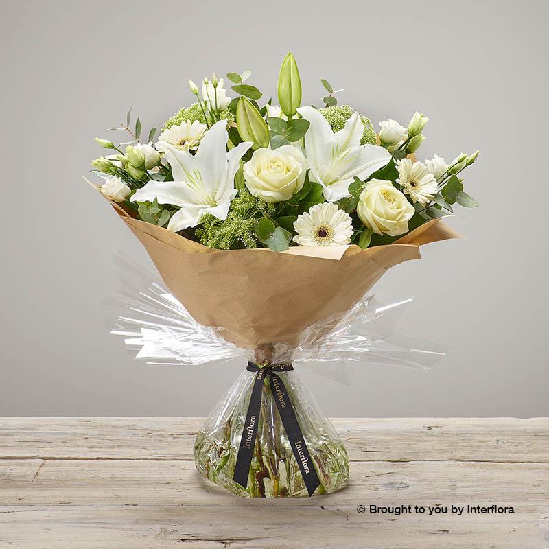 White Radiance Bouquet