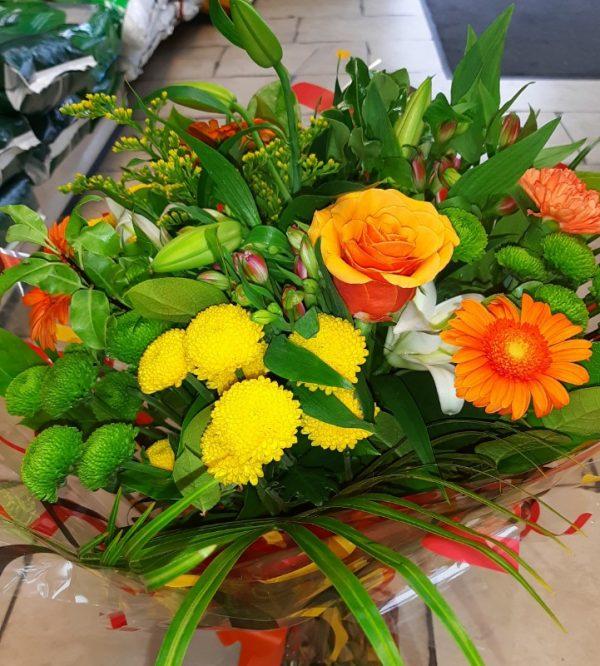 autumn bouquet of flowers